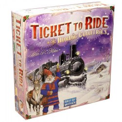 Ticket to Ride: Nordic Countries - фамилна настолна игра