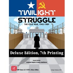 Twilight Struggle: Deluxe edition (7th Printing, 2019) Board Game
