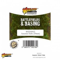 Warlord Games:  Battlefields & Basing - Autumn Tufts (10mm)