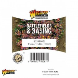 Warlord Games:  Battlefields & Basing - Flower Tufts (10mm)