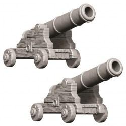 Wizkids Unpainted Miniatures Wave 9 - Cannons в D&D и други RPG / D&D Миниатюри