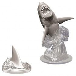 Wizkids Unpainted Miniatures Wave 9 - Shark в D&D и други RPG / D&D Миниатюри