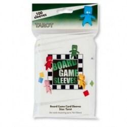 70x120mm Arcane Tinmen Premium Tarot Sleeves протектори за карти (100 броя, за настолни игри, прозрачни, плътни) в Tarot Size (70x120 мм)
