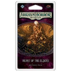 Arkham Horror: The Card Game - The Forgotten Age Cycle 3 - Heart of the Elders Mythos Pack Board Game