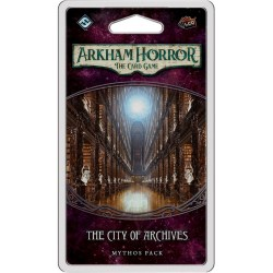 Arkham Horror: The Card Game - The Forgotten Age Cycle 4 - City of Archives Mythos Pack Board Game