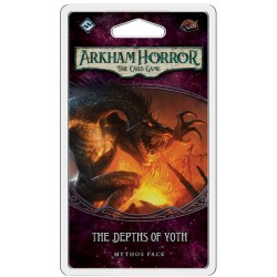 Arkham Horror: The Card Game - The Forgotten Age Cycle 5 - The Depths of Yoth Mythos Pack Board Game