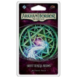 Arkham Horror: The Card Game - The Forgotten Age Cycle 6 - Shattered Aeons Mythos Pack Board Game
