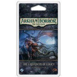 Arkham Horror: The Card Game - The Labyrinths of Lunacy Scenario Pack Board Game