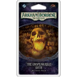 Arkham Horror: The Card Game - The Path to Carcosa Cycle 2 - The Unspeakable Oath Mythos Pack Board Game