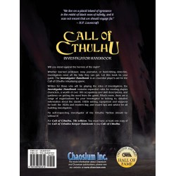 Call of Cthulhu RPG: Investigator Handbook (7th Edition, Hardcover) + PDF в D&D и други RPG / Други RPG