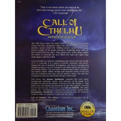 Call of Cthulhu RPG: Keeper Rulebook (7th Edition, Hardcover)