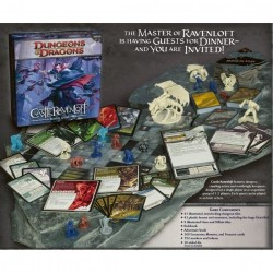 Dungeons & Dragons: Castle Ravenloft Board Game (2010, D&D Adventure System) Board Game