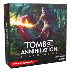 Dungeons & Dragons: Tomb of Annihilation Board Game (2017 Standard Edition, D&D Adventure System) - кооперативна настолна игра в света на D&D