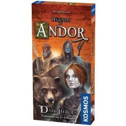 Legends of Andor: Dark Heroes Expansion (5-6 players, 2017) - разширение за настолна игра