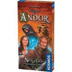 Legends of Andor: New Heroes Expansion (5-6 players, 2014) - разширение за настолна игра