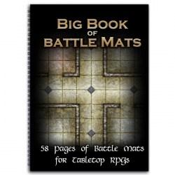 """Loke Battle Mats: The Big Book of Battle Mats (12x8"""", A4, 58 pages ) в D&D и други RPG / D&D / Pathfinder терен"""