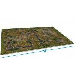 """Loke Battle Mats: The Giant Book of Battle Mats (16.5x12"""", A3, 62 pages) в D&D и други RPG / D&D / Pathfinder терен"""