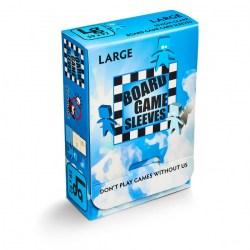 Матови 59x92 мм Arcane Tinmen Premium Standard European Sleeves протектори за карти (50 броя, за настолни игри, прозрачни, плътни) в Standard Euro (59x92 мм)
