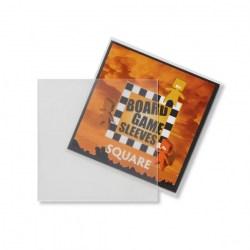 Матови 70x70 мм Arcane Tinmen Premium Square Sleeves протектори за карти (50 броя, за настолни игри, прозрачни, плътни) в Други размери