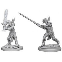 Pathfinder Battles Deep Cuts Unpainted Miniatures Wave 6: Female Human Barbarians в D&D и други RPG / D&D Миниатюри