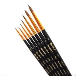 Roubloff Fine-Art Brush - 1115-3 (Red sable hair) - четка за оцветяване на миниатюри от естествен косъм в Четки, бои и аксесоари