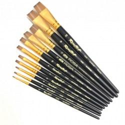 Roubloff Fine-Art Brush - 1S25-6 Drybrush Big (Synthetic) - четка за оцветяване на миниатюри с изкуствен косъм в Четки, бои и аксесоари