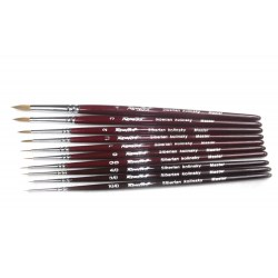 Roubloff Fine-Art Brush - 301Т-10/0 (Siberian kolinsky hair) in Brushes, paints and more