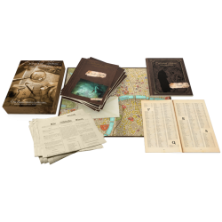 Sherlock Holmes Consulting Detective: The Thames Murders & Other Cases (2017) - детективска настолна игра