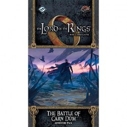 The Lord of the Rings LCG: Angmar Awakened Cycle - The Battle of Carn Dûm Adventure Pack Board Game