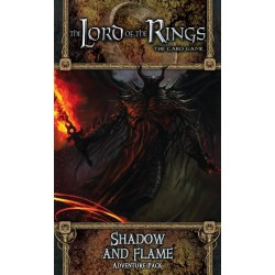 The Lord of the Rings LCG: Dwarrowdelf Cycle - Shadow and Flame Adventure Pack Board Game