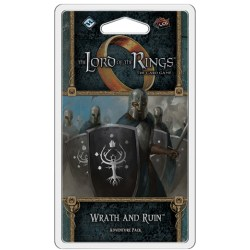 The Lord of the Rings LCG: Vengeance of Mordor Cycle #1 - Wrath and Ruin Adventure Pack Board Game