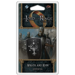 The Lord of the Rings LCG: Vengeance of Mordor Cycle #1 - Wrath and Ruin Adventure Pack