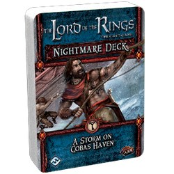 The Lord of the Rings: The Card Game – A Storm on Cobas Haven Nightmare Deck Board Game
