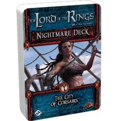 The Lord of the Rings: The Card Game - The City of Corsairs Nightmare Deck Board Game