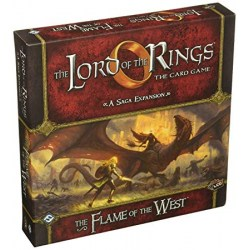 The Lord of the Rings: The Card Game - The Flame of the West Saga Expansion (2016) - разширение за настолна игра