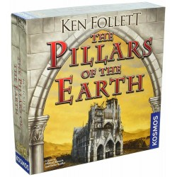 The Pillars of the Earth (English second edition, 2018) - настолна игра
