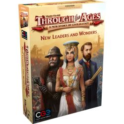 Through the Ages: A New Story of Civilization - New Leaders & Wonders Expansion (2019)