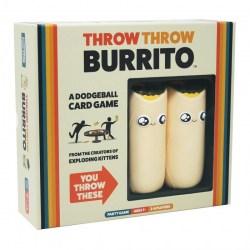 Throw Throw Burrito Original Edition (2019) - парти настолна игра от издателите на Exploding Kittens