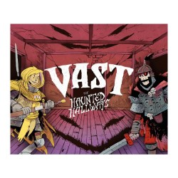 Vast: Haunted Hallways Expansion (Compatible with Vast: Crystal Caverns and Vast: Mysterious Manor) - разширение за настолна игра