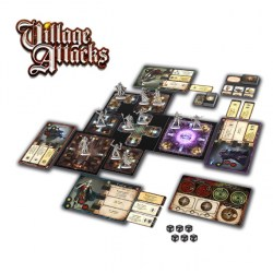 Village Attacks (2017) Board Game