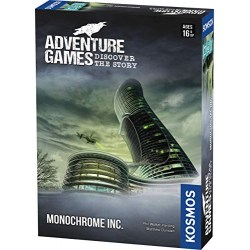 Adventure Games: Monochrome Inc. (2019) - настолна игра