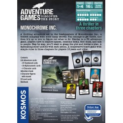 Adventure Games: Monochrome Inc. (2019) Board Game