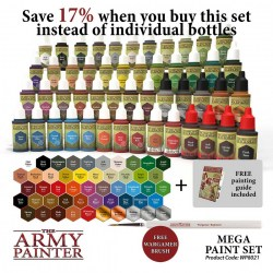 Army Painter - Mega Paint Set in Brushes, paints and more