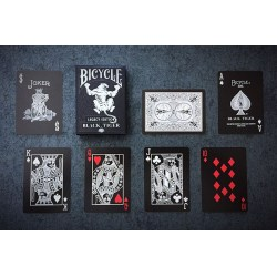 Bicycle Black Tiger Playing Card Deck в Карти за игра