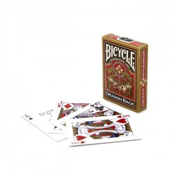 Bicycle GOLD Dragon Back Card Deck in Playing cards