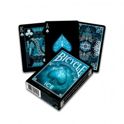 Bicycle ICE Elements Playing Card Deck - Black in Playing cards