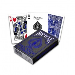 Bicycle MetalLuxe Foil Back Playing Cards - 2019 V2 Edition Cobalt Blue in Playing cards