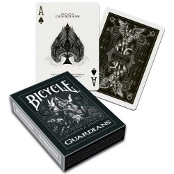 Bicycle Raider Back Guardians Playing Card Deck - Black в Карти за игра