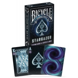 Bicycle Star Gazer Playing Card Deck в Карти за игра