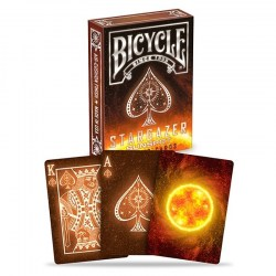 Bicycle Star Gazer - Sun Spots - Playing Card Deck in Playing cards